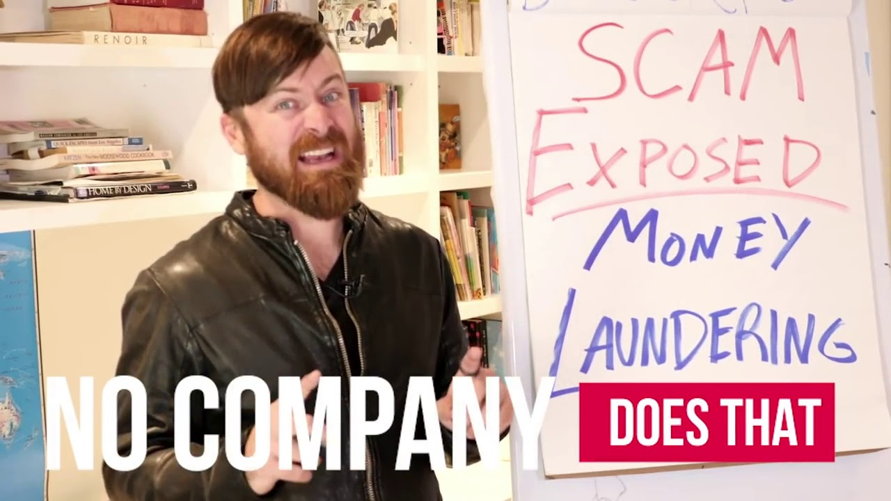 SCAM EXPOSED! Money Laundering Work From Home Job Scam