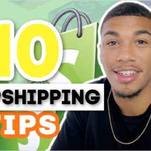 10 Tricks/Tips That Will Save You THOUSANDS | Shopify Dropshipping