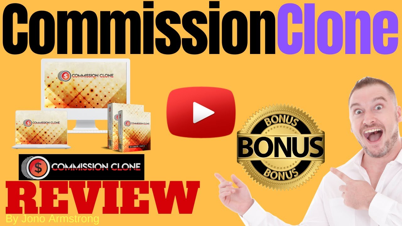 Commission Clone Review ⚠️ WARNING ⚠️ DON'T GET THIS WITHOUT MY 👷 CUSTOM 👷 BONUSES!!