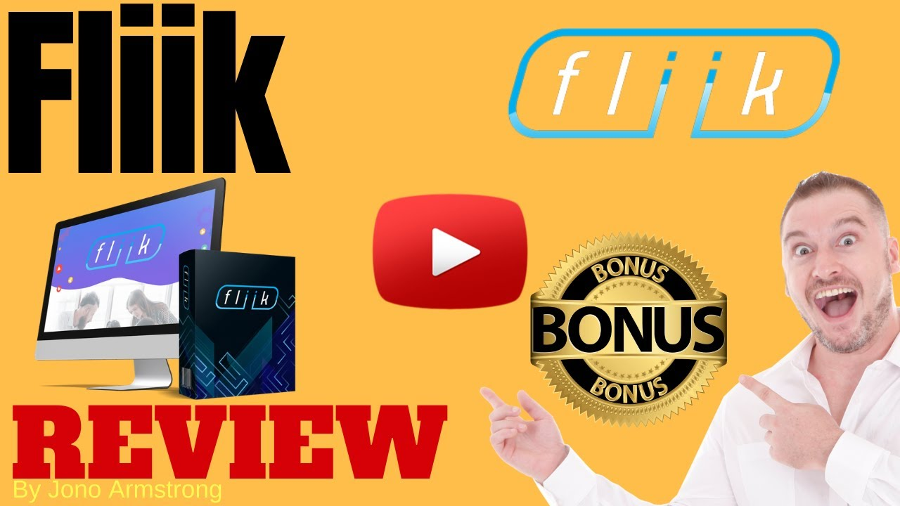 Fliik Review ⚠️ WARNING ⚠️ DON'T GET THIS WITHOUT MY 👷 CUSTOM 👷 BONUSES!!