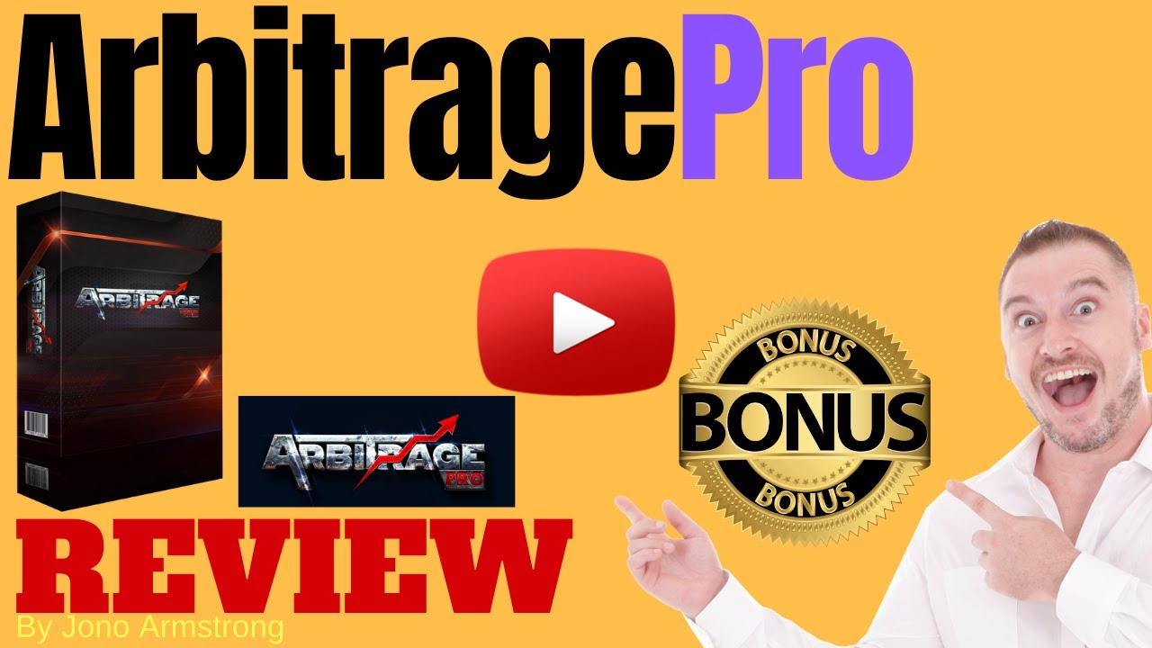 Arbitrage Pro Review ⚠️ WARNING ⚠️ DON'T GET THIS WITHOUT MY 👷 CUSTOM 👷 BONUSES!!