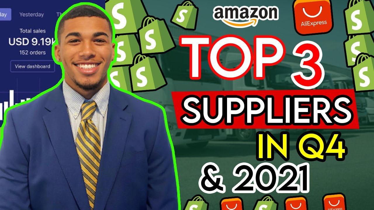 TOP 3 SUPPLIERS FOR Q4 AND 2021 | SHOPIFY DROPSHIPPING 2021