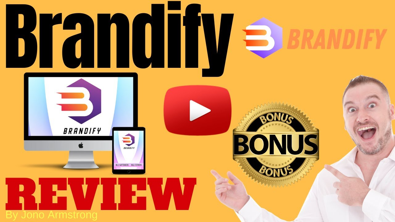 Brandify Review ⚠️ WARNING ⚠️ DON'T GET THIS WITHOUT MY 👷 CUSTOM 👷 BONUSES!!
