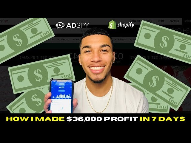 $36,000 PROFIT in 7 days - Shopify Dropshipping Product Validation 2021