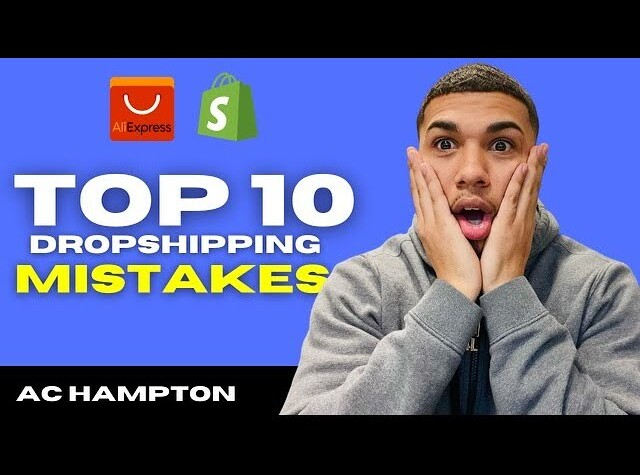 Top 10 MISTAKES To Avoid Starting A Shopify Dropshipping Business In 2021