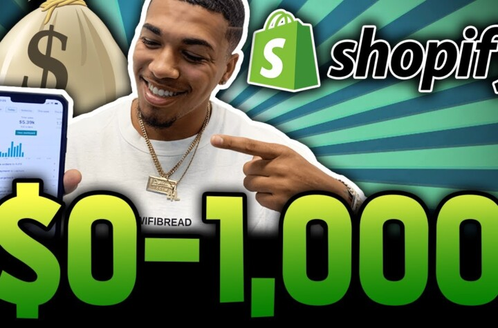 $0 To $1K/Day In 2 Days Shopify Dropshipping | Step By Step Tutorial