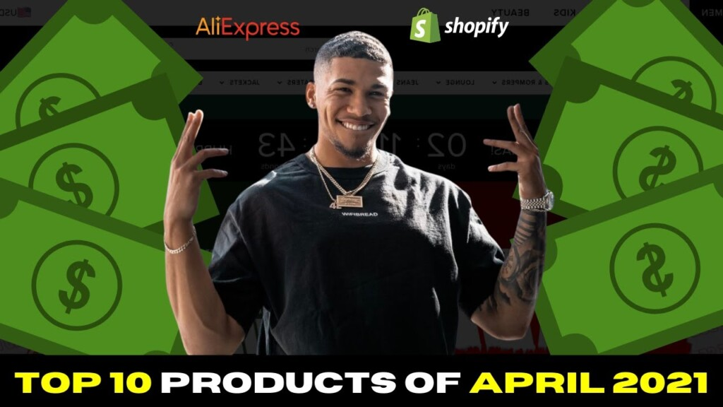 ☀️ TOP 10 PRODUCTS TO SELL IN APRIL 2021 | SHOPIFY DROPSHIPPING