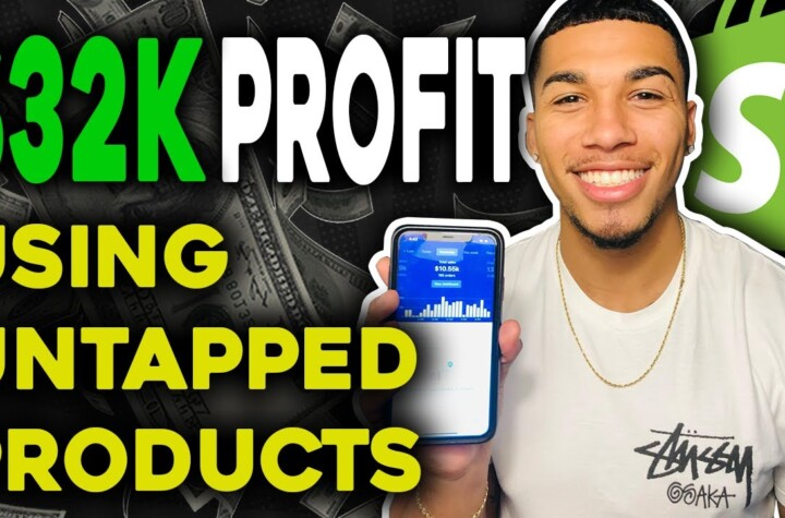 $32K PROFIT In 14 Days Using Untapped Winning Products - Shopify Dropshipping