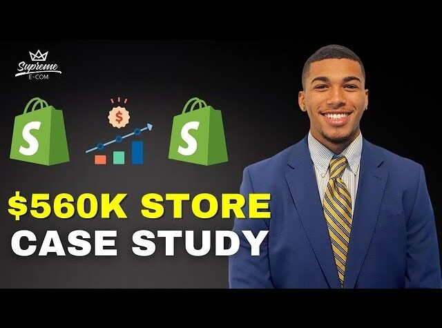 SHOPIFY DROPSHIPPING CASE STUDY | $0 - $580K Student Interview