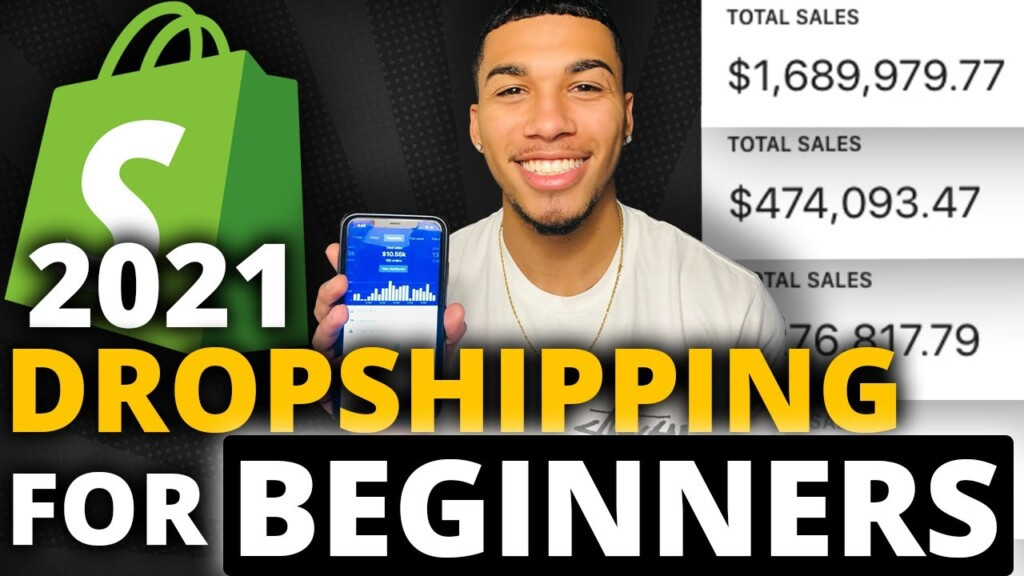 Easiest Way To Start Dropshipping In 2021 (For BEGINNERS)