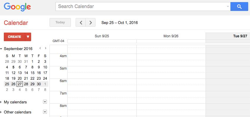 google tools use google cal
