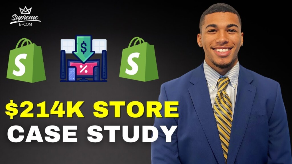 SHOPIFY DROPSHIPPING CASE STUDY | $0 - $214K Student Interview