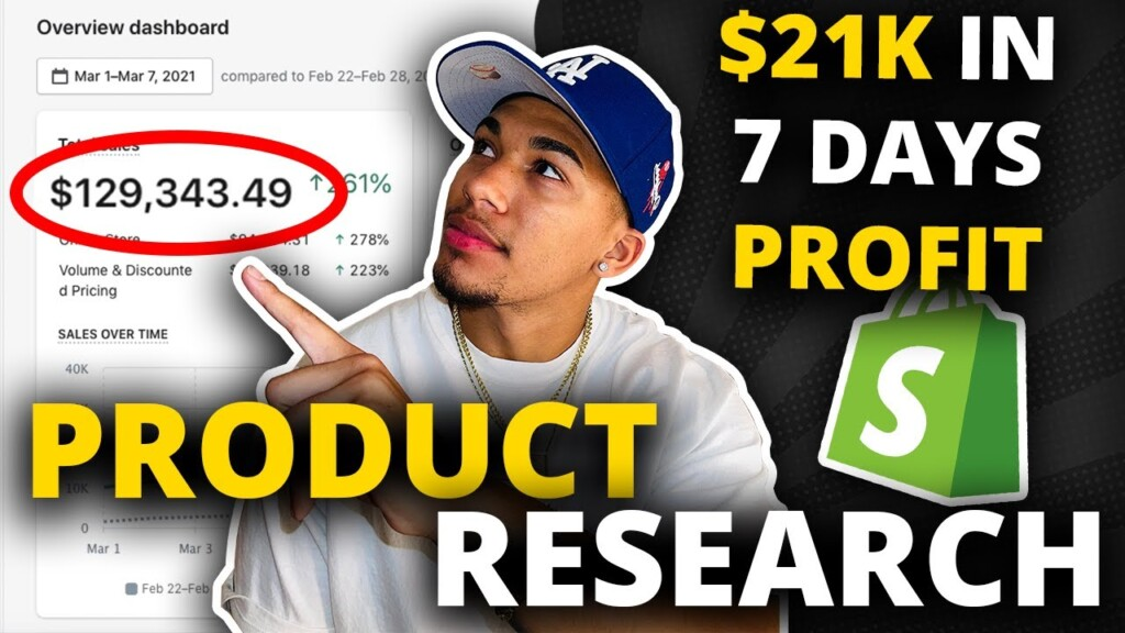 $21,000 PROFIT in 7 days - FREE Shopify Dropshipping Product Validation 2021