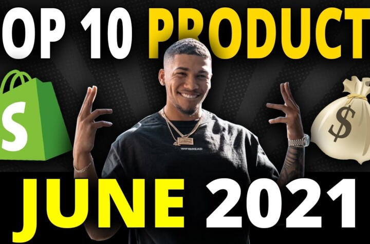 ☀️ TOP 10 PRODUCTS TO SELL IN JUNE 2021 | SHOPIFY DROPSHIPPING