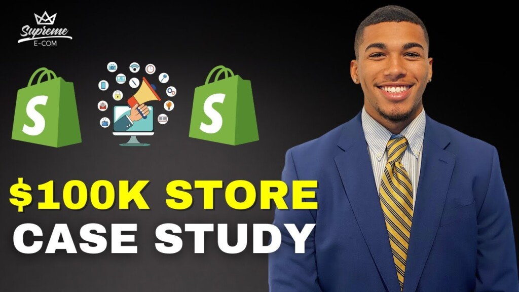 SHOPIFY DROPSHIPPING CASE STUDY   $0 - $100K Student Interview