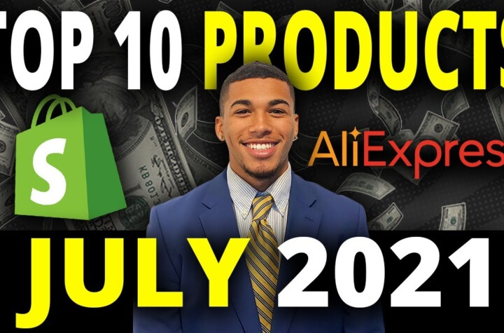 ☀️ TOP 10 PRODUCTS TO SELL IN JULY 2021 | SHOPIFY DROPSHIPPING