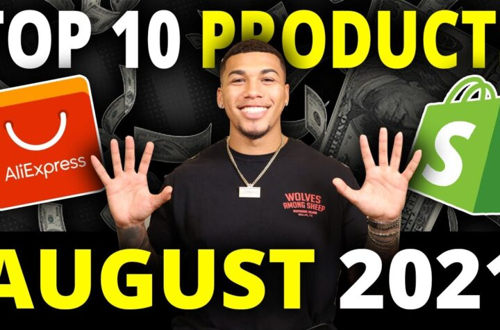 ☀️ TOP 10 PRODUCTS TO SELL IN AUGUST 2021 | SHOPIFY DROPSHIPPING