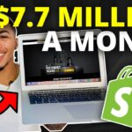 How This Shopify Store Makes $7,700,000/Month