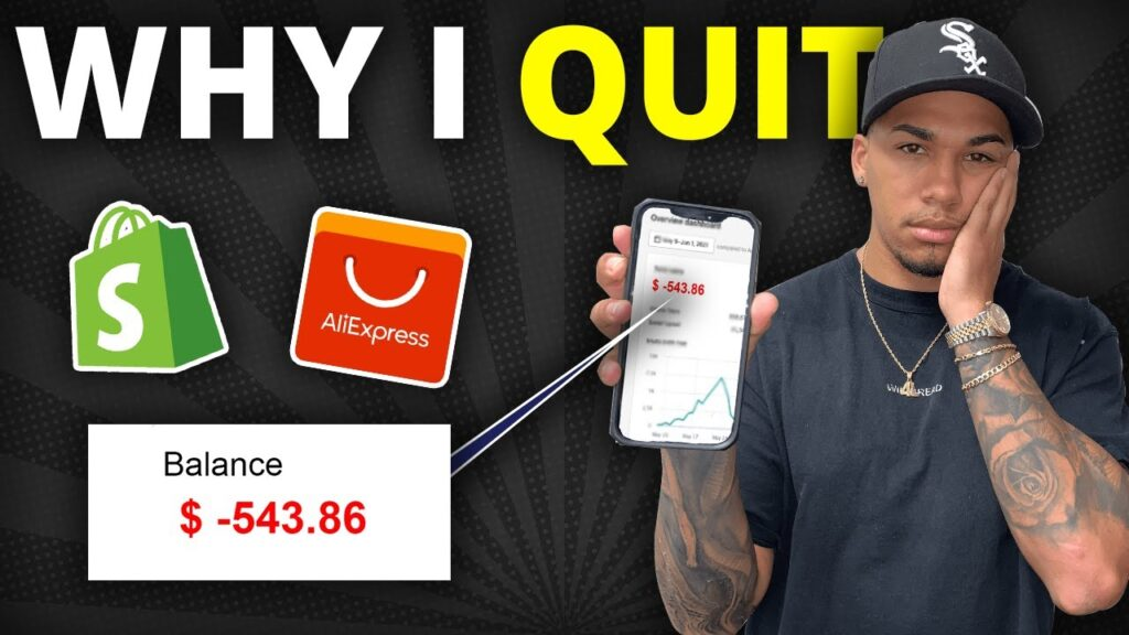 Why I QUIT Shopify Dropshipping...