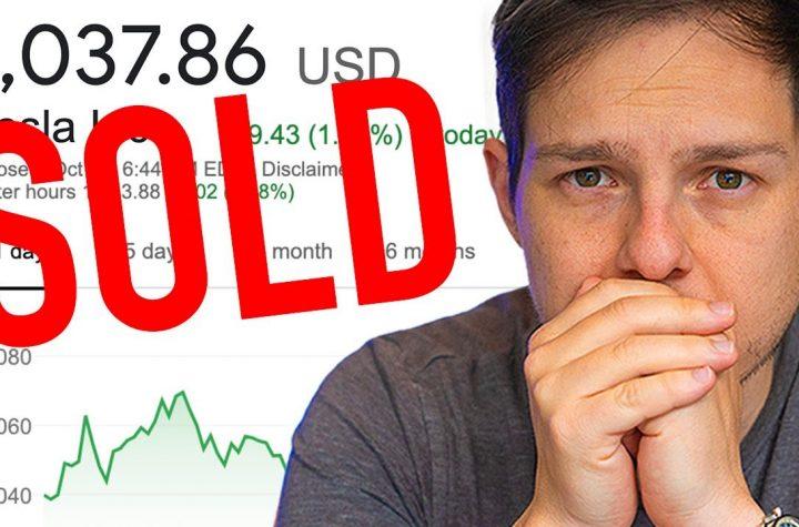 Sold My Tesla Stock